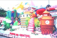 Genting Highland's Flower Float