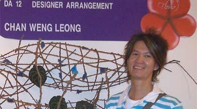 Chan Weng Leong - Professional Floral Designer